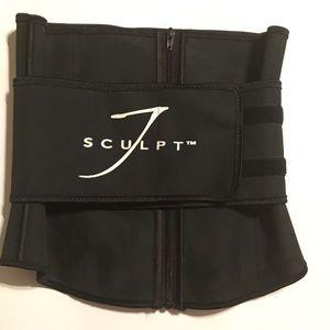 Jsculpt waist trainer belt (size LG)